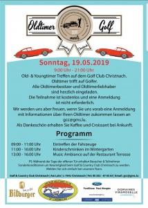 Oldtimer meets Golf, Golf Christnach @ Golf & Country Club Christnach