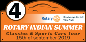 4th ROTARY INDIAN SUMMER TOUR 2019 @ BASCHARAGE