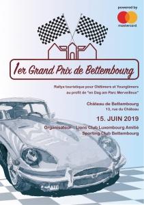 1er Grand Prix de Bettembourg @ Bettembourg - Château de Bettembourg
